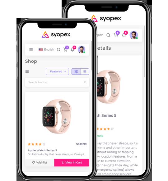 ecommerce-mobile app